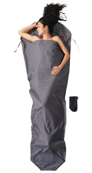 Cocoon MummyLiner - Sacos de dormir - Cotton gris